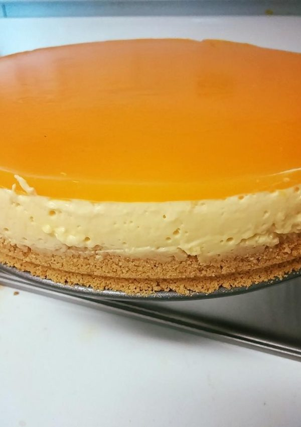 Recipe-No Bake Mango Cheese Cake