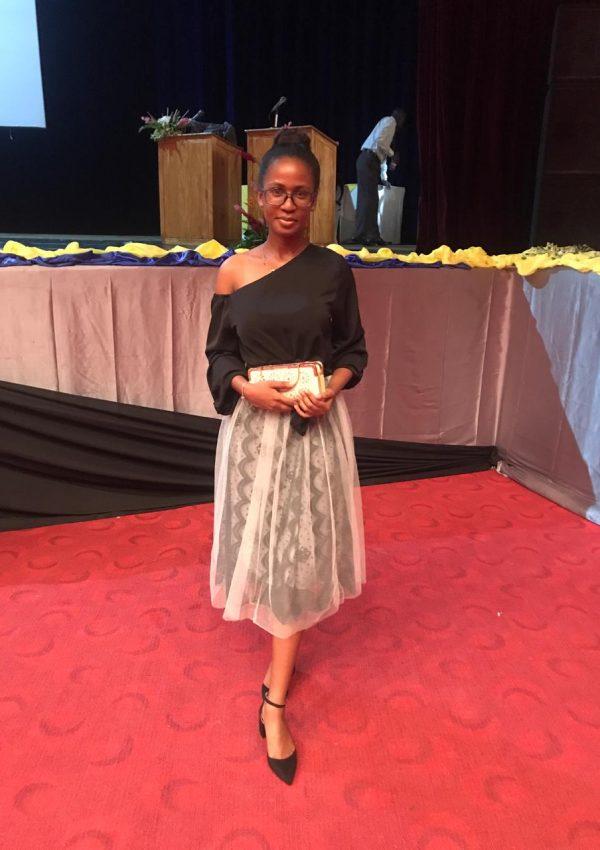 Young Seychelloise: Sandra Rachel