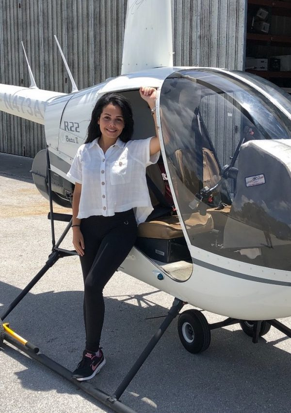 First Female Seychellois Commercial Helicopter Pilot-Vanessa Gendron
