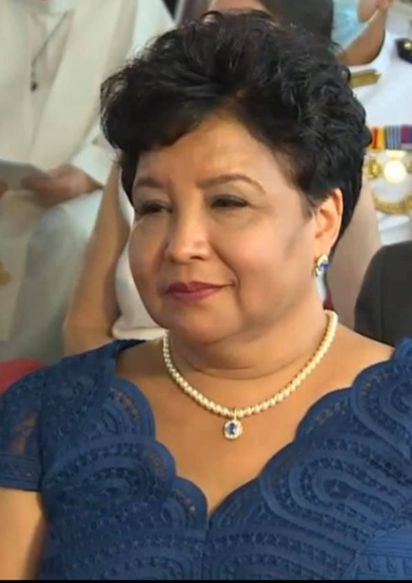 The First Lady of Seychelles