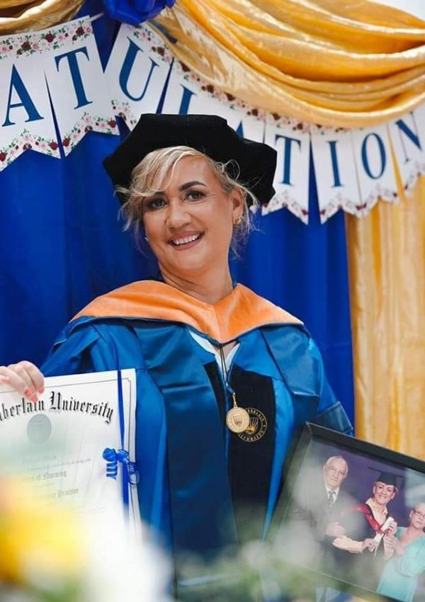 Gylian Mein-Doctor of Nursing Practice-A First for Seychelles